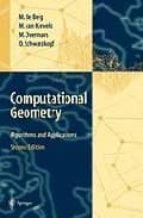 Computational Geometry: Algorithms And Application