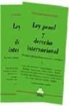 Ley Penal Y Derecho Internacional Doctrina Y Jurisprudencia