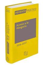 Memento Acceso A La Abogacia 2016/2017